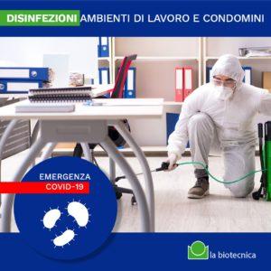 disinfezioni Biotecnica